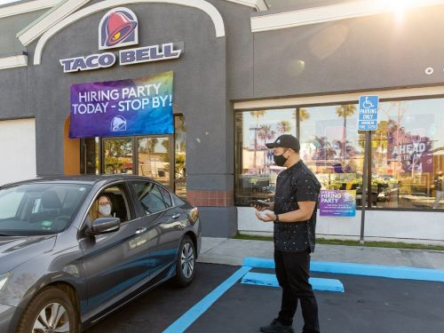 The service industry is clawing for a comeback, and large chains like Taco Bell and IHOP are rolling out the perks as they scramble to hire