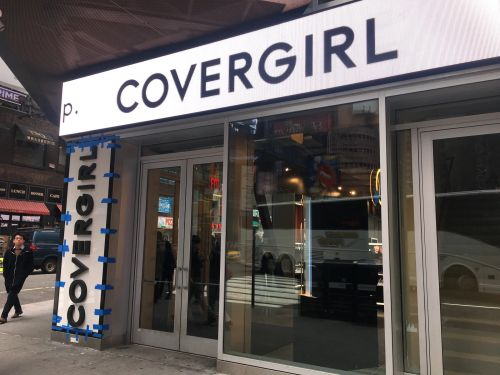CoverGirl's first store shows what the future of makeup shopping might look like