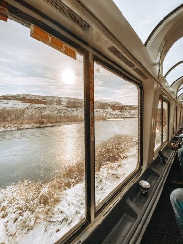 A blogger took Amtrak across the country from San Francisco to New York and recorded the whole trip on TikTok