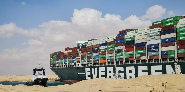 The operators of the Ever Given may be forced to unload its 18,000 cargo containers onto other ships, report says