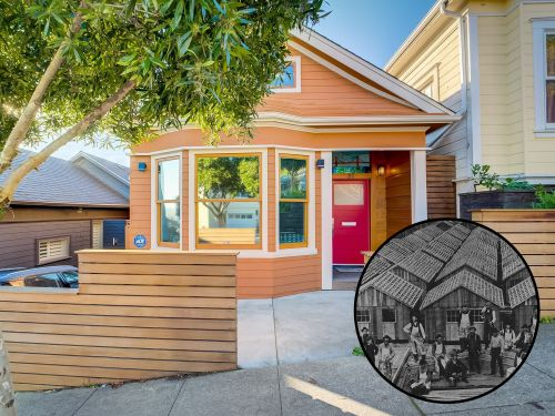 San Francisco's housing market is so dire that this once tiny home built out of desperation after the 1906 earthquake for $50 is now selling for $2.5 million. Take a look inside