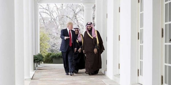 'Maybe he did and maybe he didn't': Trump defiantly stands with Saudi Arabia and Prince Mohammed before release of CIA report on Jamal Khashoggi's murder