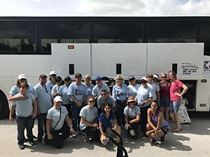 The Keyes Company Visits Florida Keys for Hurricane Relief