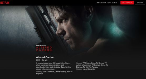 New Altered Carbon trailer thickens the plot for Netflix's new sci-fi series