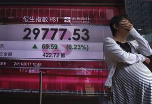 World shares uneven, China in focus after big sell-off