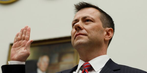 'Just another victory notch in Putin's belt': FBI official Peter Strzok testifies before the House Judiciary Committee in a high-stakes hearing