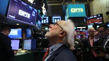 Dow Plunges Nearly 1,600 Points In Biggest Intraday Point Drop In History