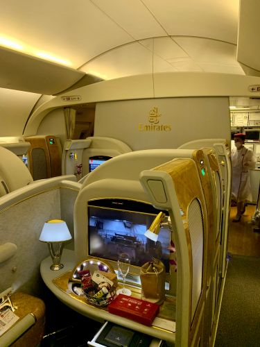 You can transfer Marriott Bonvoy points to over 40 airlines to book award flights, including first class on Cathay Pacific and Emirates