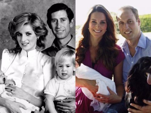 These portraits show how the British royal family has changed through the years