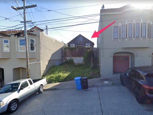 An 'uninhabitable' shack that's missing a wall is on the market for nearly $2 million in San Francisco, and it showcases the real value of land in the Bay Area