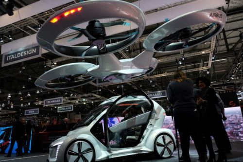 Audi gets in on the flying car action with Airbus and Italdesign