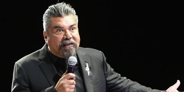 Comedian George Lopez confronted a Trump supporter at a Hooters in New Mexico