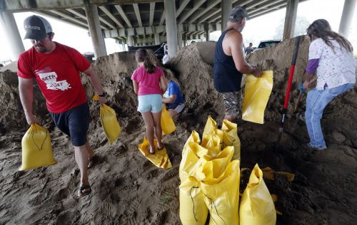 Hurricane Barry knocks out power for over 46,000 people, or 50 percent of customers, in coastal Louisiana counties