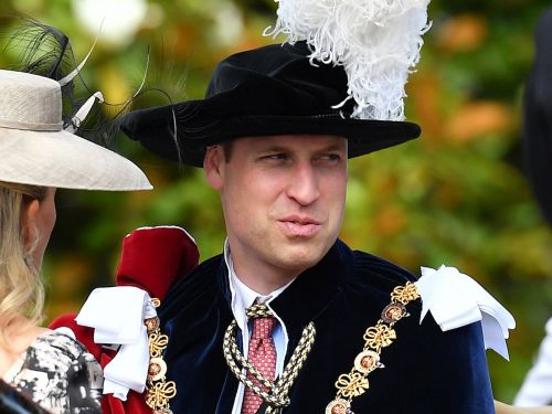 Prince William wore velvet and feathers for a traditional royal event - and made an inadvertent fashion statement