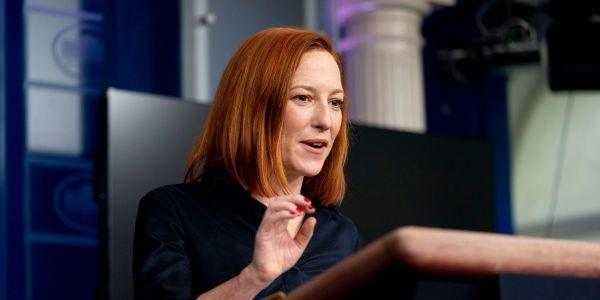 Psaki refuses to praise Trump's role in vaccine distribution plan: 'I don't think anyone deserves credit when half a million people in the country have died'