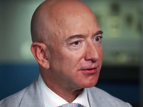 Jeff Bezos says space travel is essential because we are 'in the process of destroying this planet'
