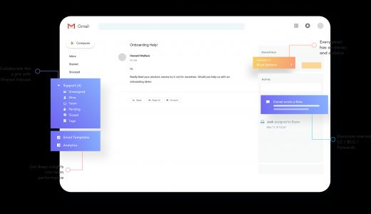 Hiver lets you manage shared email addresses from Gmail
