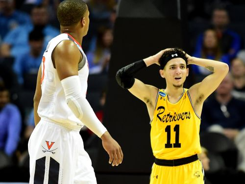 A gambler reportedly cashed in big time by picking the March Madness upset of the century