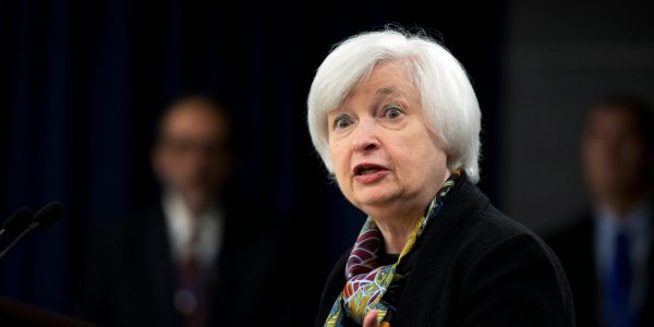 Janet Yellen says investors should be wary of the stock market's high-flying sectors