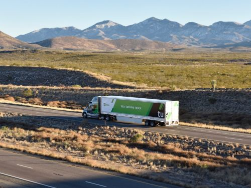 Amazon Web Services is underpinning the technology at a $1 billion driverless trucking startup - and it shows how Amazon wants to control its supply chain and cut its $28 billion yearly shipping bill