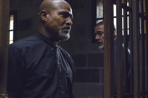 'The Walking Dead' star says it's not his fault Negan escaped the prison cell: 'Father Gabriel slammed the f--ing gate shut'