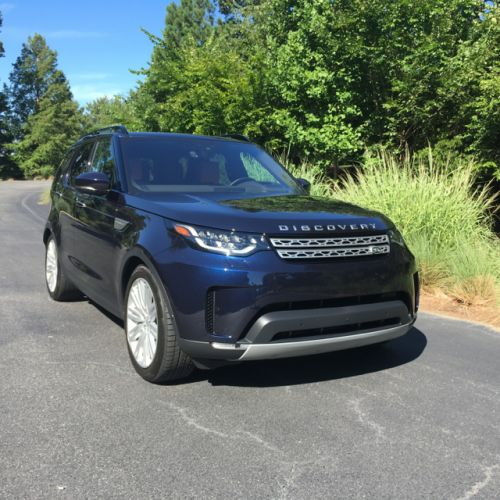 Versatile SUV: 2018 Land Rover Discovery