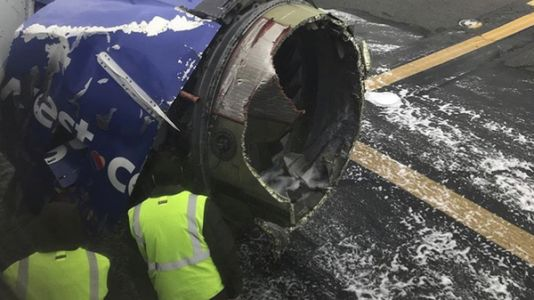 Southwest Airlines Engine Failure Results in First Fatality on U.S. Airline in 9 Years