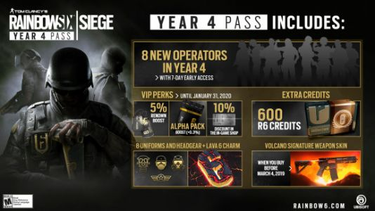 Rainbow Six: Siege's Year 4 pass is out now