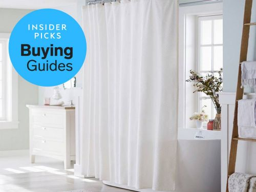 The best shower curtain liners you can buy