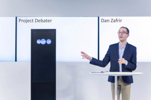 IBM debuts Project Debater, experimental AI that argues with humans