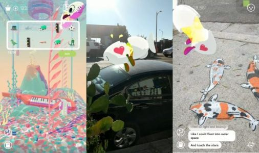 Tendar is a surreal AR app from the makers of Virtual Virtual Reality
