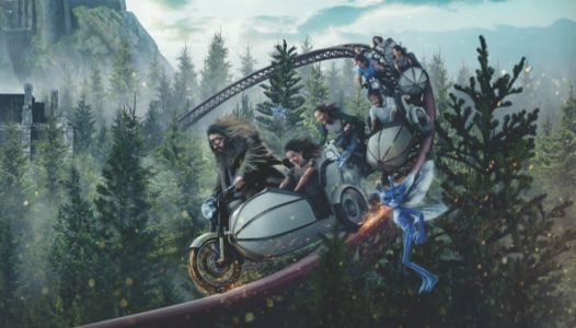 A new 'Harry Potter' roller coaster is coming to Universal Orlando, and you'll get to fly with Hagrid on a motorbike