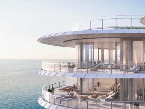 A $68 million Miami penthouse with 2 infinity pools could shatter Florida's real estate record. Here's a look inside the sprawling apartment