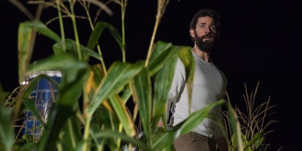John Krasinski recounts the time he teared up on the set of 'A Quiet Place'