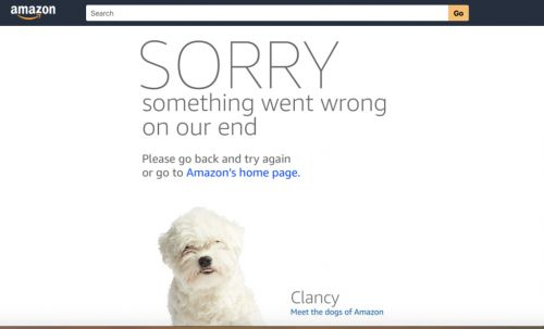 A Prime Day Glitch Is Making Amazon's Website Crash