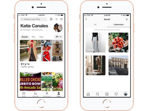 We compared Pinterest to Instagram's Collections feature to see which bookmarking service is best - here's how the two stack up