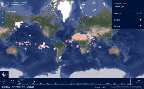 Global Fishing Watch tracks ocean poachers with the help of AI