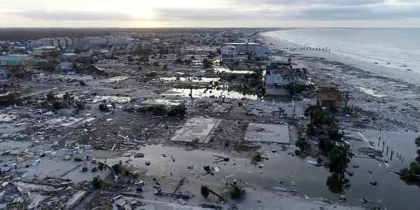 10 photos show Hurricane Michael's destruction from the sky