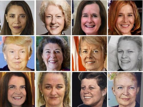 Someone used an app to show what US presidents would look like as women - and people find it extremely powerful