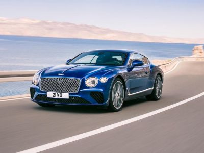 The new Bentley Continental GT is like something out of a James Bond movie