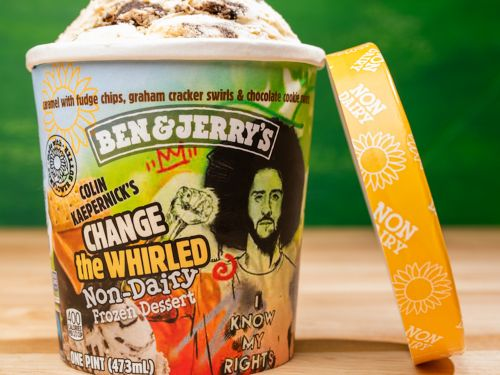Ben & Jerry's partnered with Colin Kaepernick to unveil a vegan ice cream that 'amplifies calls to defund and abolish the police'
