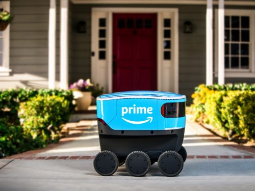 Amazon has revealed a new autonomous-delivery robot named 'Scout'