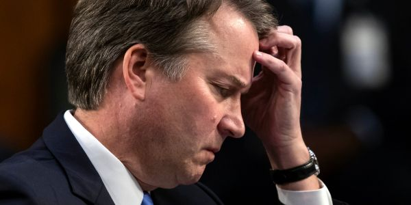 The woman accusing Brett Kavanaugh of sexual assault reportedly had to move out of her house and hire private security after receiving death threats
