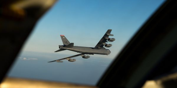 A major US bomber deployment to Europe led to some amazing photos - and to some close encounters with Russia