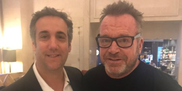 "'I'm not ""effing"" around': Tom Arnold shuts down during an interview after being asked the question that's on everyone's mind"