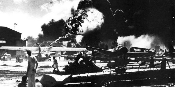 Unforgettable photos from the Japanese attack on Pearl Harbor, 77 years ago today