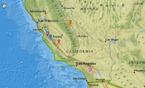 """California Hit By 39 Earthquakes Within 24 Hours As Scientists Warn Of """"Movement Along The San Andreas Fault"""""""