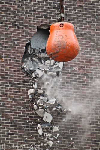 Classic: Wrecking Ball Looms for Big Housing Spec