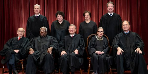 6 things you probably didn't know about the Supreme Court class photo