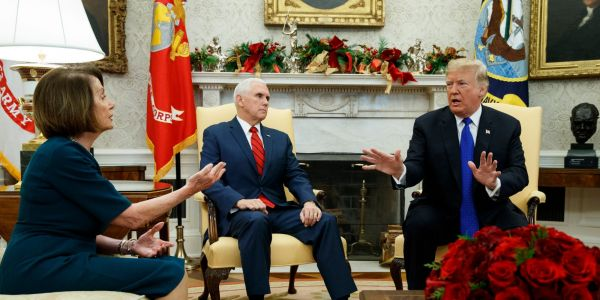 Government shutdown: Pelosi says Trump thinks federal workers can 'just ask their father for more money. But they can't.'